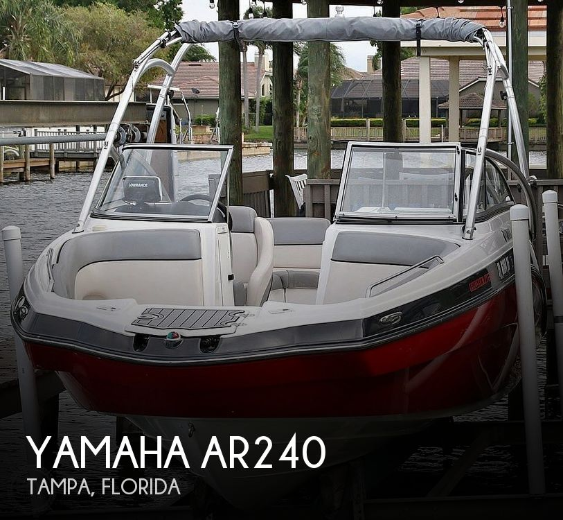 Used Yamaha Boats For Sale in Florida by owner | 2012 Yamaha ar240