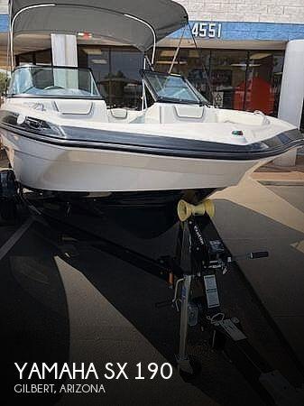 Used Yamaha Ski Boats For Sale in Arizona by owner | 2018 Yamaha Sx 190