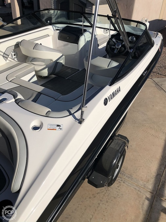 2018 Yamaha boat for sale, model of the boat is Sx 190 & Image # 11 of 41