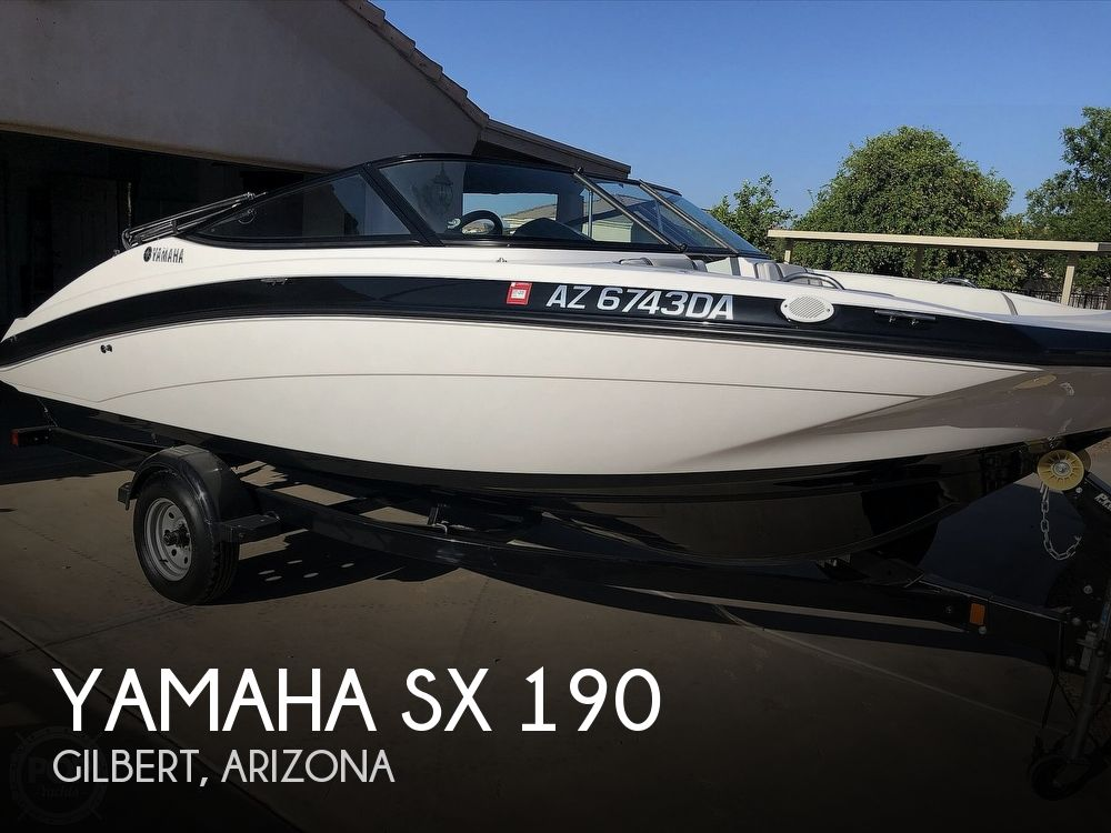 2018 Yamaha boat for sale, model of the boat is Sx 190 & Image # 1 of 41