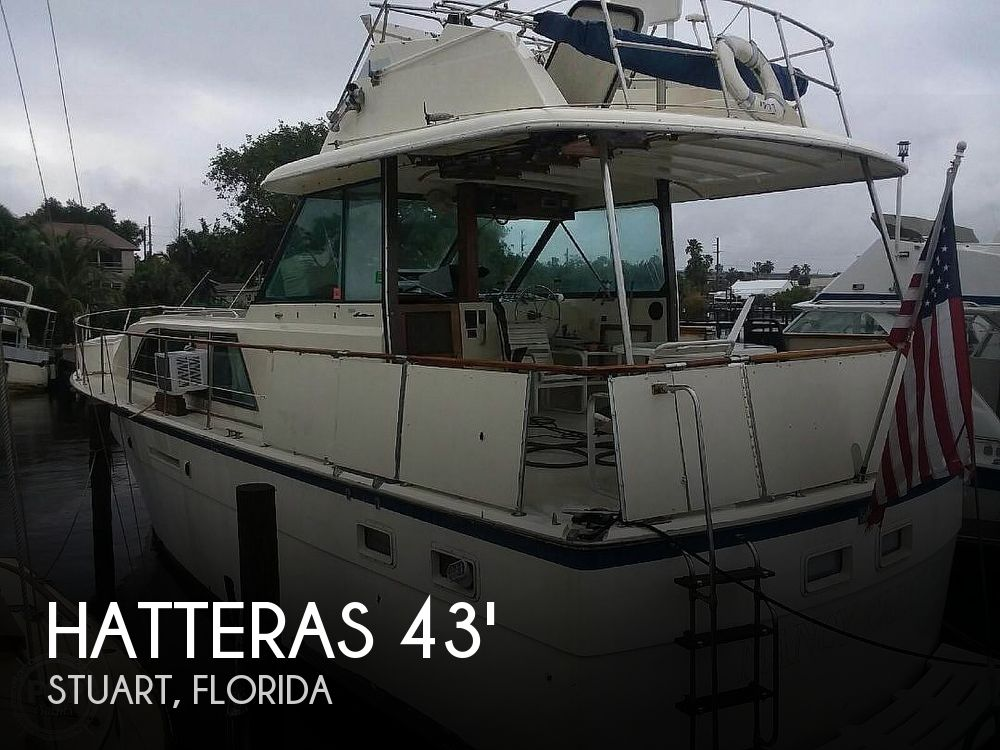 Used HATTERAS Motoryachts For Sale by owner   1977 Hatteras 43