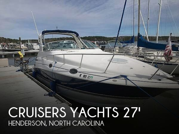 Used Boats For Sale in Durham, North Carolina by owner | 2005 Cruisers Yachts 280 Express