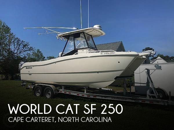Used World Cat Boats For Sale by owner | 2004 World Cat SF 250