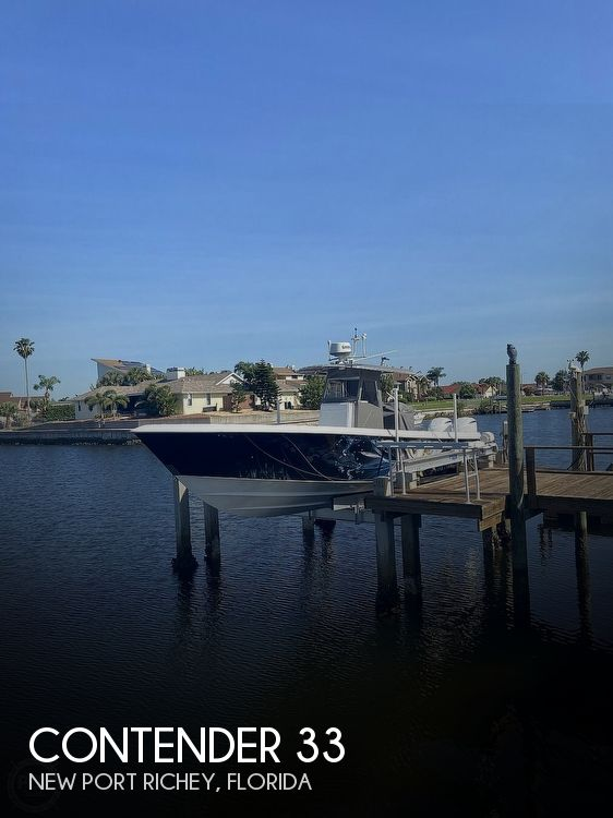 Used Boats For Sale in Lakeland, Florida by owner | 2009 Contender 33 Tournament
