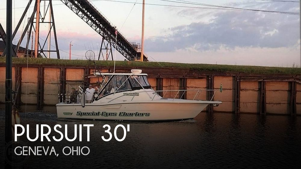 Used Boats For Sale in Akron, Ohio by owner | 2001 Pursuit 3000 Offshore