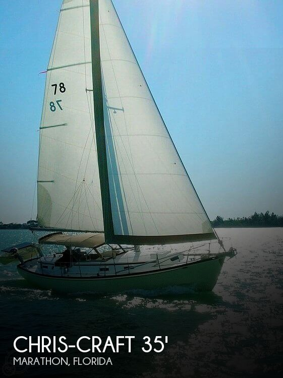 1965 CHRIS CRAFT SAIL YACHT #78 for sale