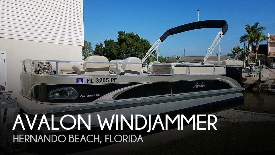 Used Avalon Boats For Sale by owner | 2011 22 foot Avalon Windjammer