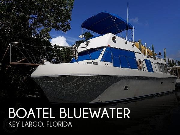 Used Boatel Boats For Sale by owner | 1977 40 foot Boatel Bluewater