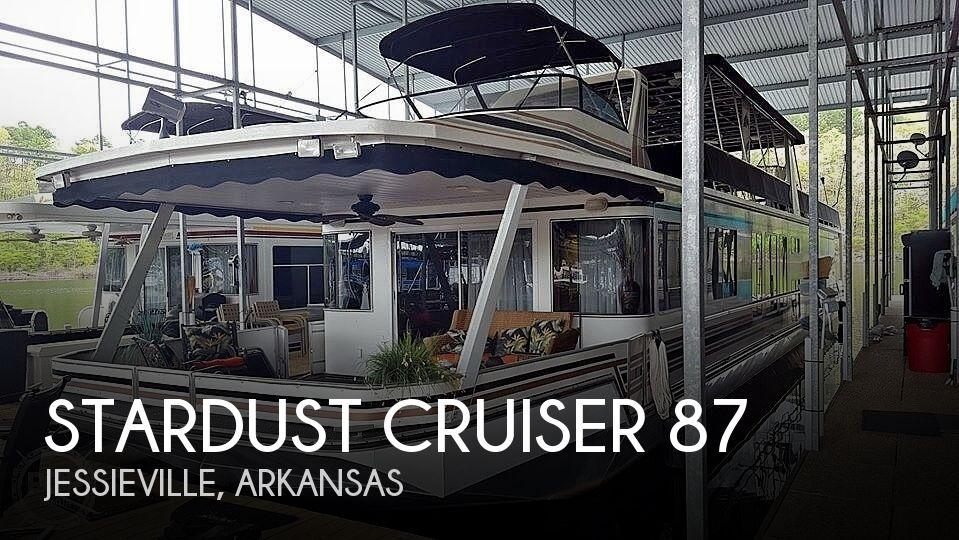 Used Houseboats For Sale in Arkansas by owner | 2000 Stardust Cruiser 87