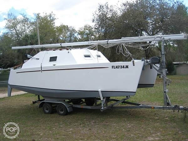 1998 Custom boat for sale, model of the boat is 18 & Image # 2 of 40