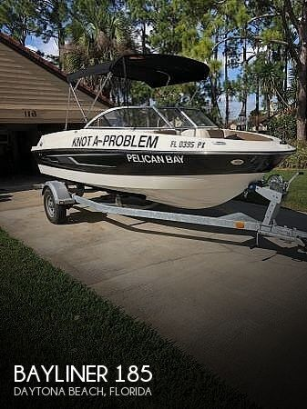 Used Power boats For Sale by owner | 2015 Bayliner 185