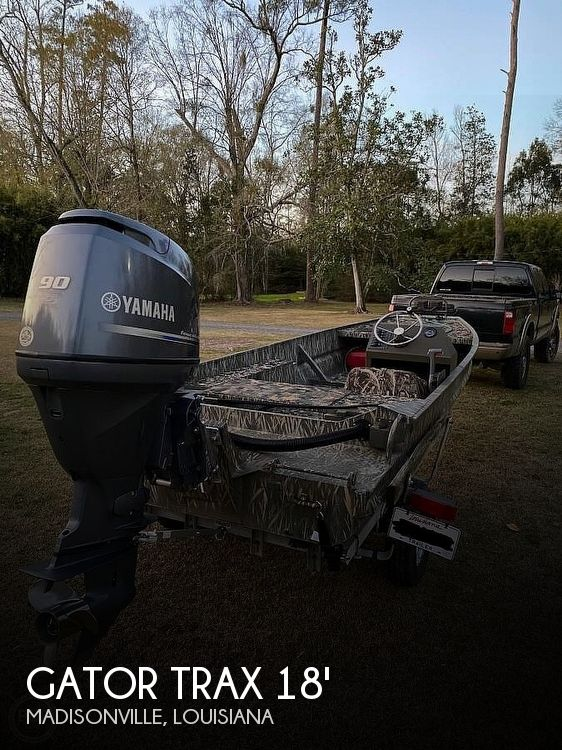 Used Gator Trax  Boats For Sale by owner | 2012 Gator Trax 1750 Sportsman Edition