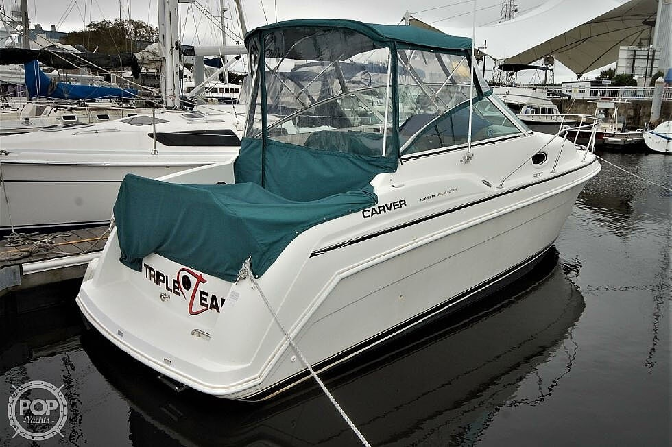 1997 Carver boat for sale, model of the boat is 260 Special Edition & Image # 2 of 40