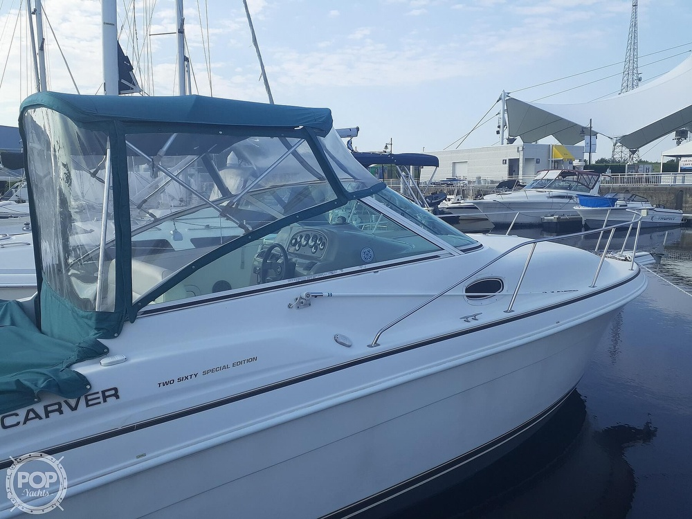 1997 Carver boat for sale, model of the boat is 260 Special Edition & Image # 26 of 40