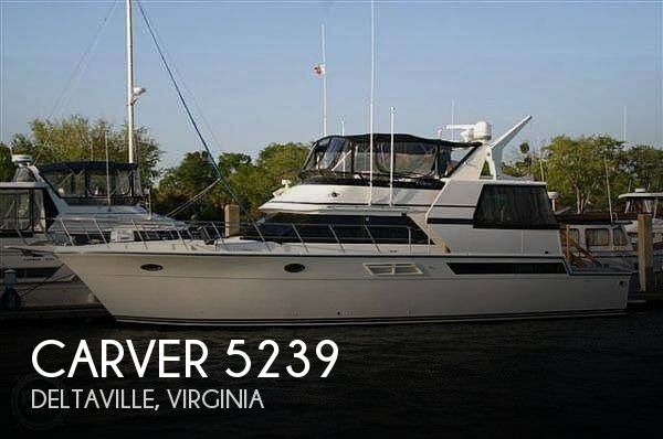 Used Boats For Sale in Virginia by owner | 1990 51 foot Carver Californian Cockpit
