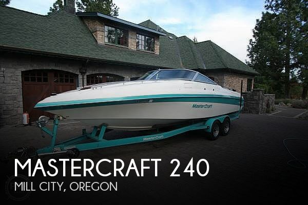 Used Power boats For Sale in Eugene, Oregon by owner | 1990 Mastercraft MariStar 240SC