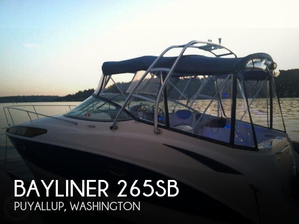 Used Bayliner Boats For Sale in Washington by owner | 2006 Bayliner 265sb