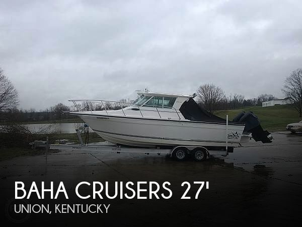 Used Boats For Sale in Louisville, Kentucky by owner | 2008 Baha Cruisers 277 GLE