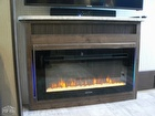 Fireplace, Flooring, Stereo System
