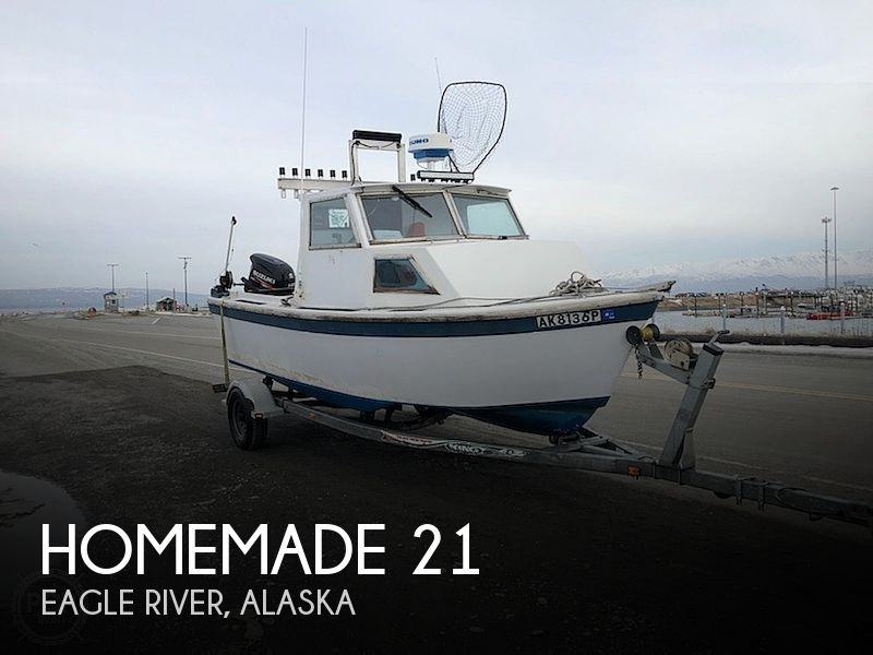 Used Boats For Sale in Anchorage, Alaska by owner | 2000 Homemade 21
