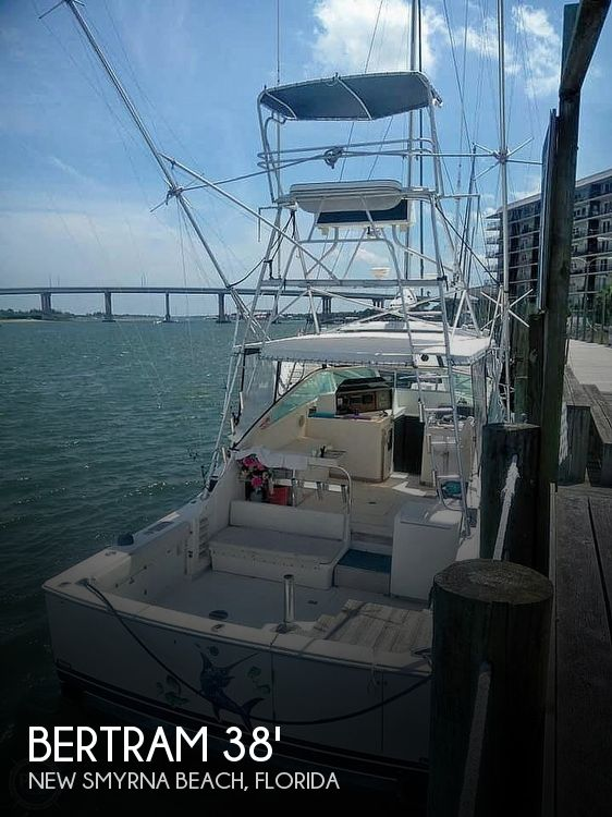 Used BERTRAM Fishing boats For Sale by owner | 1985 38 foot Bertram Special Rybovich converion