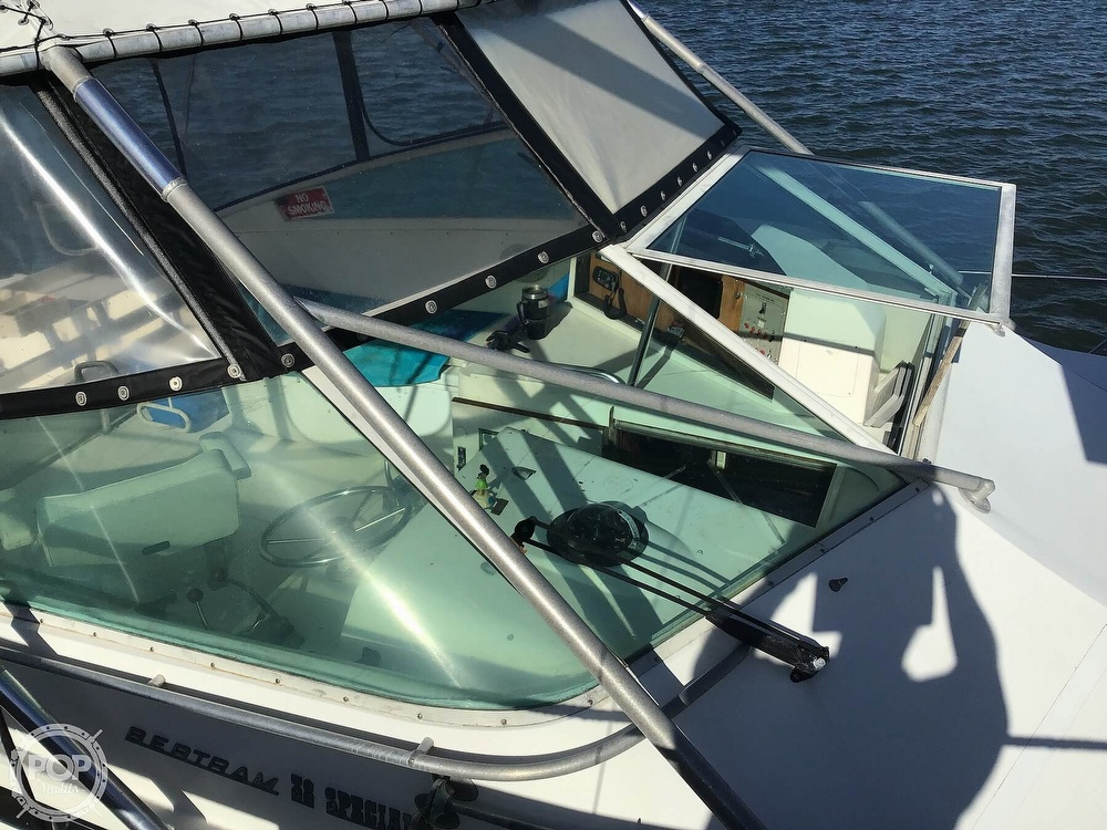 1985 Bertram boat for sale, model of the boat is 38 Special & Image # 18 of 40