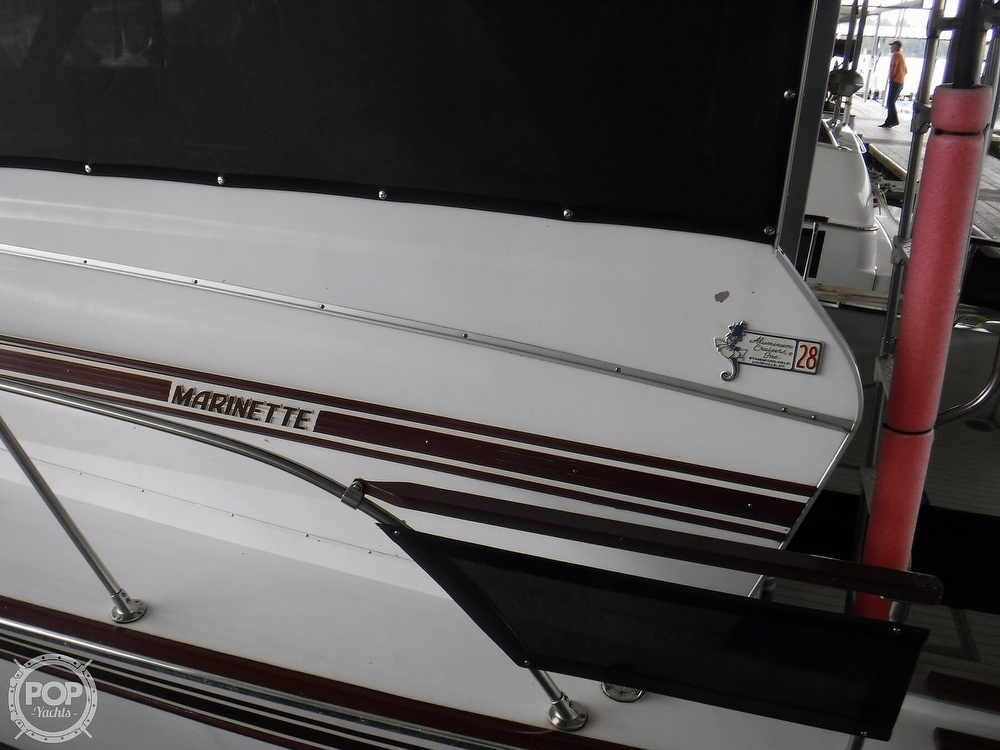 1979 Marinette boat for sale, model of the boat is 28 & Image # 4 of 40
