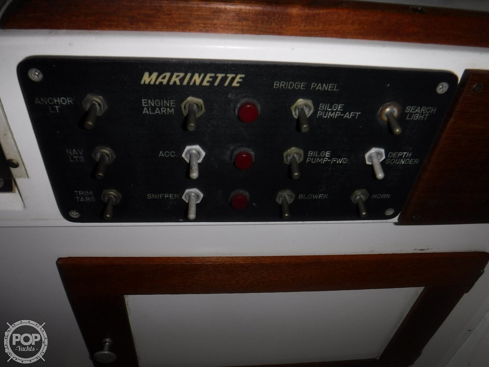 1979 Marinette boat for sale, model of the boat is 28 & Image # 25 of 40