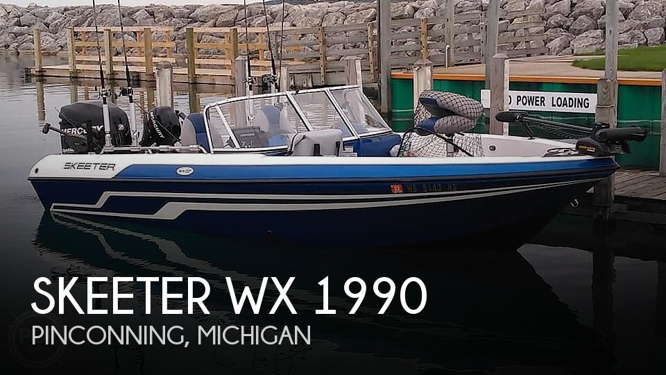 Used Skeeter Boats For Sale in Michigan by owner | 2010 Skeeter WX 1990