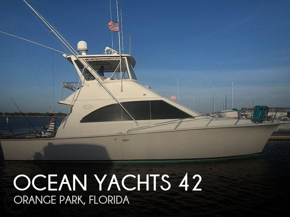 1993 Ocean Yachts boat for sale, model of the boat is 42 Super Sport & Image # 1 of 40