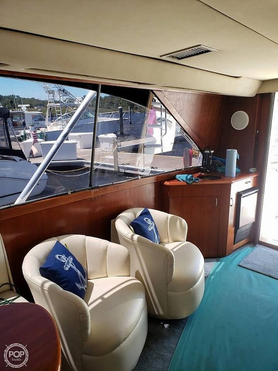 1993 Ocean Yachts boat for sale, model of the boat is 42 Super Sport & Image # 8 of 40