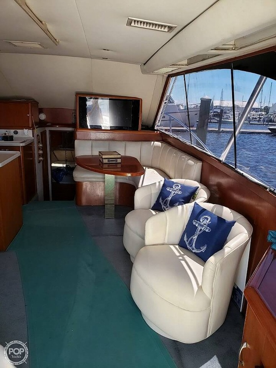 1993 Ocean Yachts boat for sale, model of the boat is 42 Super Sport & Image # 9 of 40