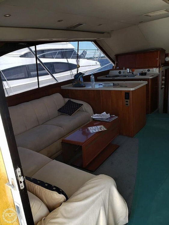 1993 Ocean Yachts boat for sale, model of the boat is 42 Super Sport & Image # 11 of 40