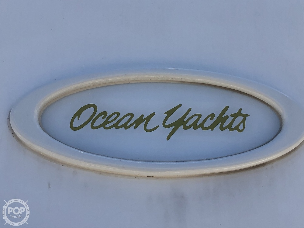 1993 Ocean Yachts boat for sale, model of the boat is 42 Super Sport & Image # 22 of 40