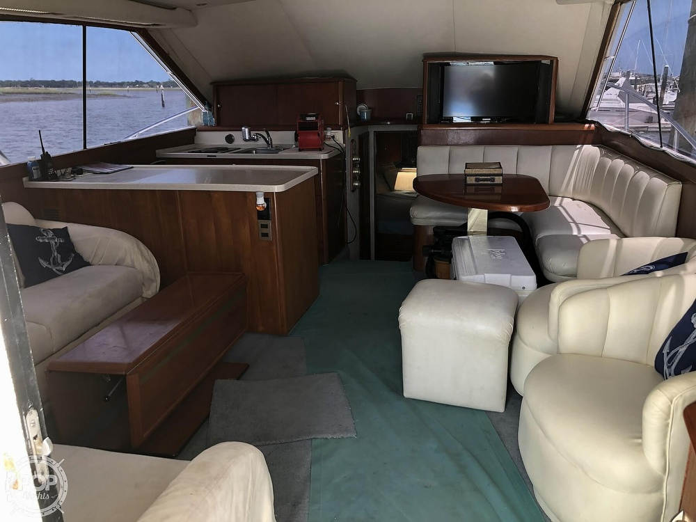 1993 Ocean Yachts boat for sale, model of the boat is 42 Super Sport & Image # 4 of 40