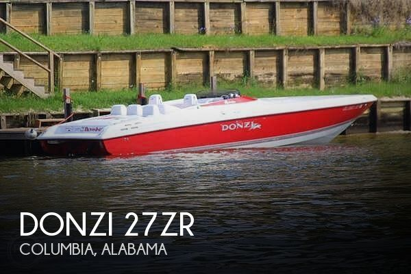 Used Boats For Sale in Dothan, Alabama by owner   2007 Donzi 27zr