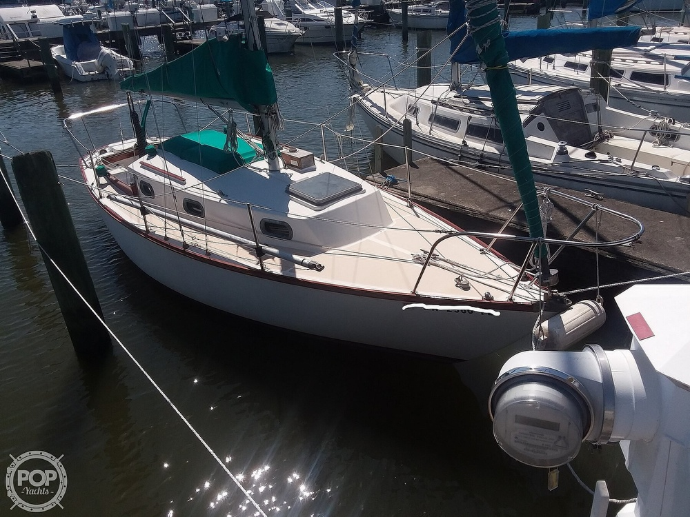 1980 Cape Dory boat for sale, model of the boat is 27 & Image # 3 of 40