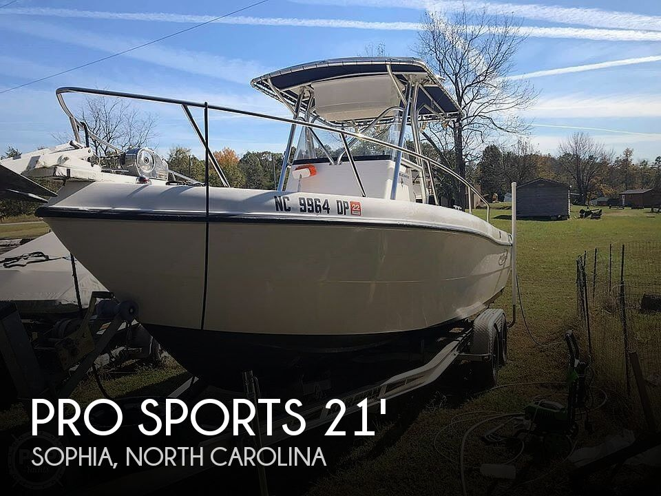 Used Pro Sports Boats For Sale by owner | 2003 Pro Sports Bluewater 2200