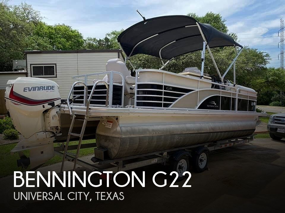 Used Pontoon Boats For Sale in Texas by owner | 2014 Bennington g22