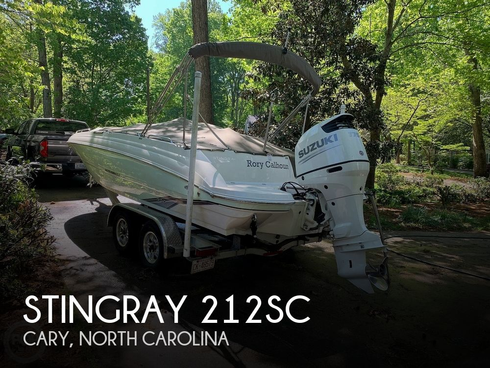 Used Stingray Deck Boats For Sale by owner | 2018 Stingray 212SC