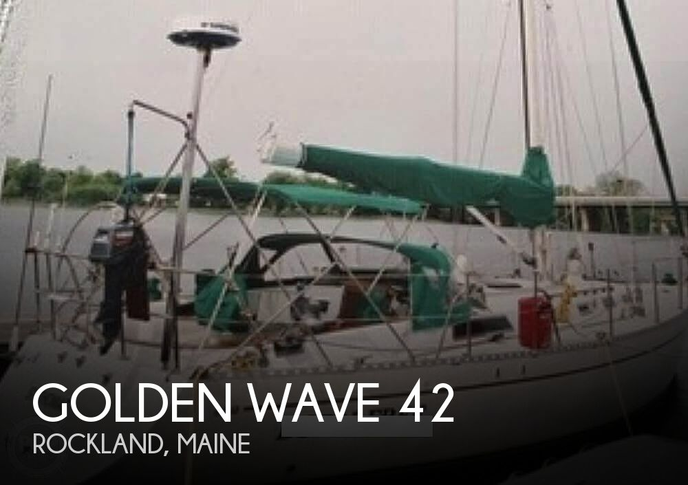 1981 Golden Wave boat for sale, model of the boat is 42 & Image # 1 of 9