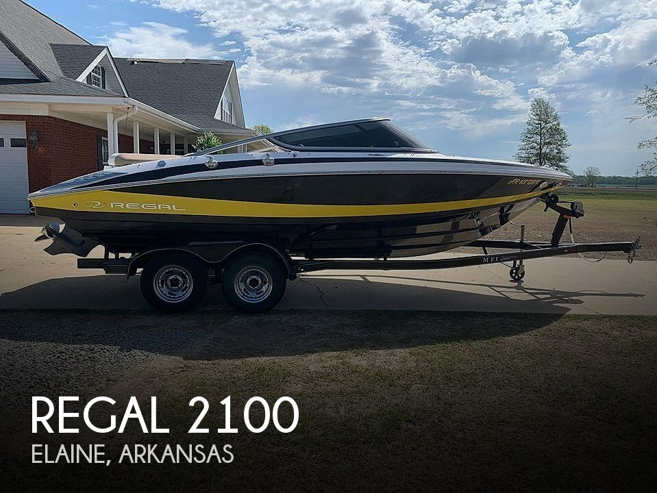 Used Boats For Sale in Memphis, Tennessee by owner | 2011 Regal 2100