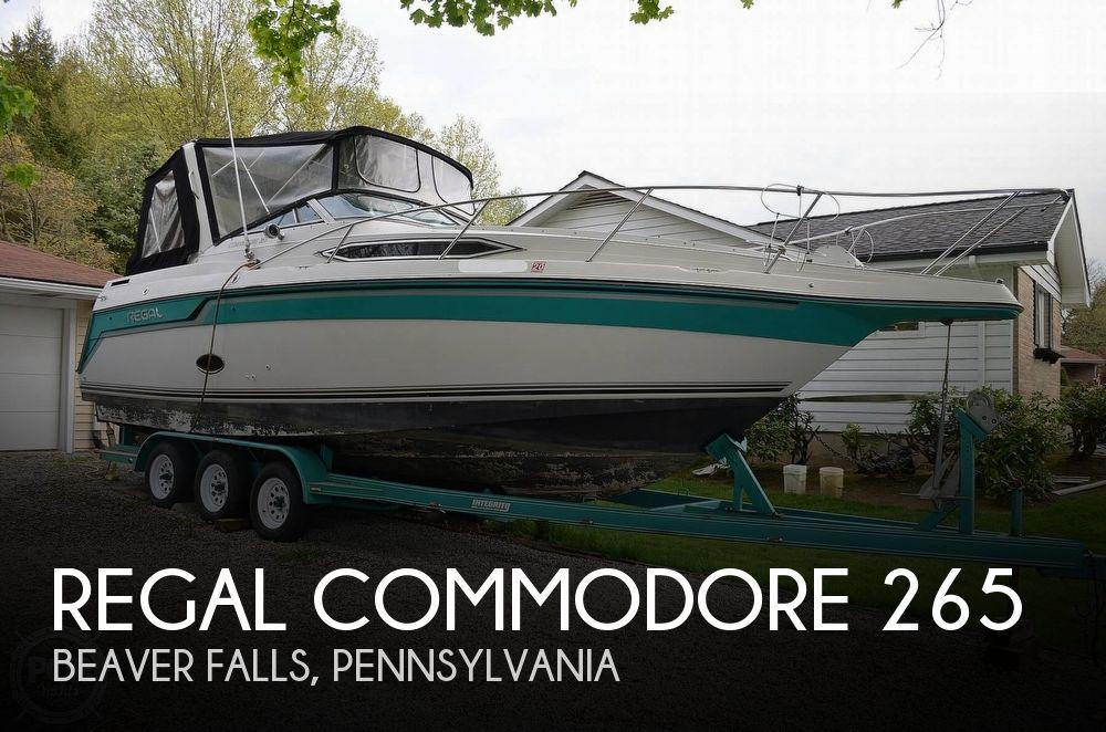 1990 REGAL COMMODORE 265 for sale