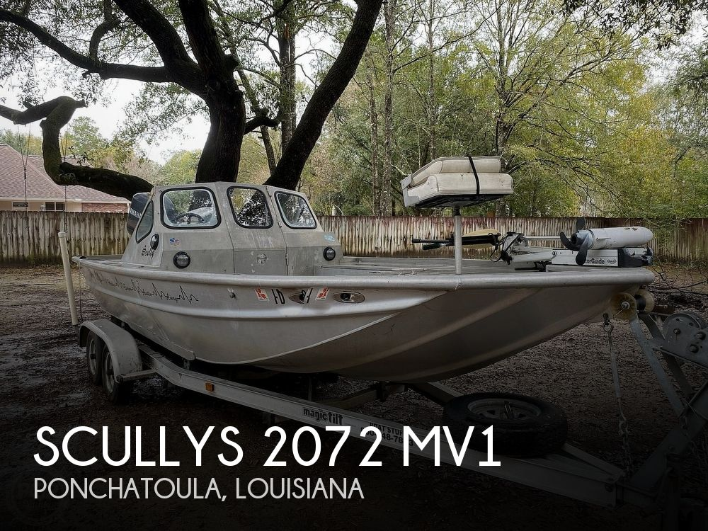 2000 Scullys boat for sale, model of the boat is 2072 MV1 & Image # 1 of 40