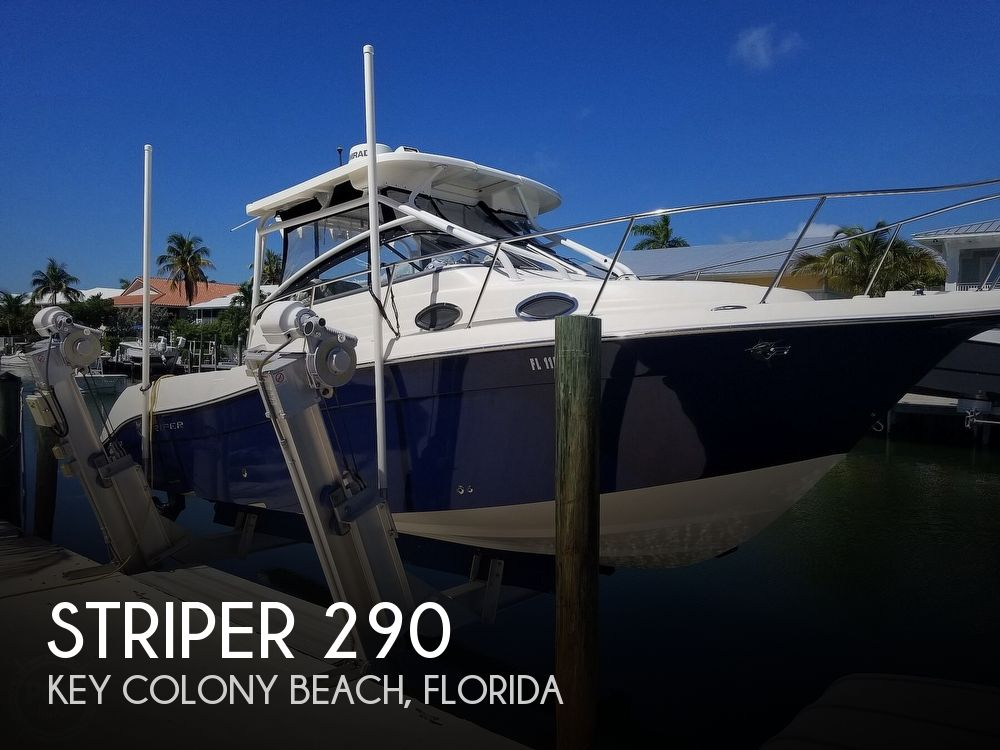 Used Striper Boats For Sale by owner | 2016 Striper 290 Walkaround