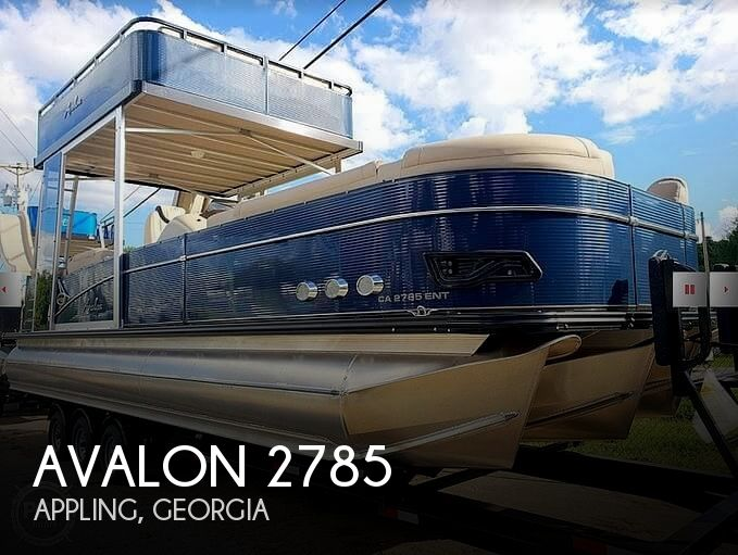 Used Boats For Sale in Augusta, Georgia by owner | 2018 Avalon Catalina Platinum 2785 ENTFS