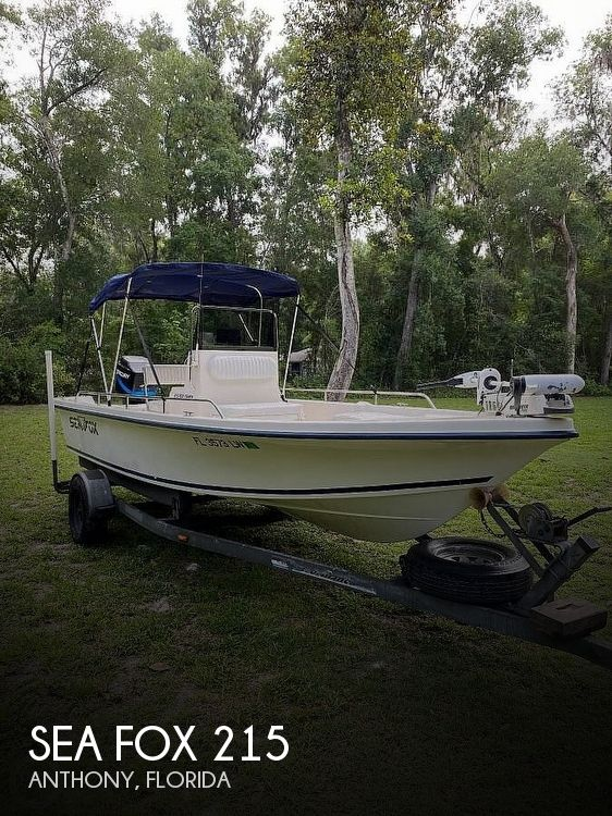 Used Boats For Sale by owner   2002 Sea Fox 215