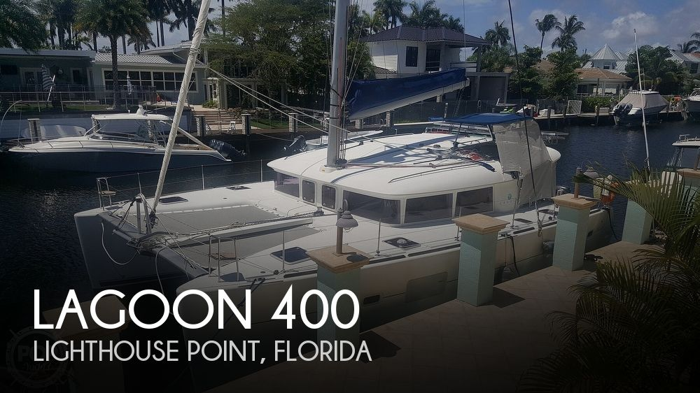 2010 Lagoon boat for sale, model of the boat is 400 & Image # 1 of 40