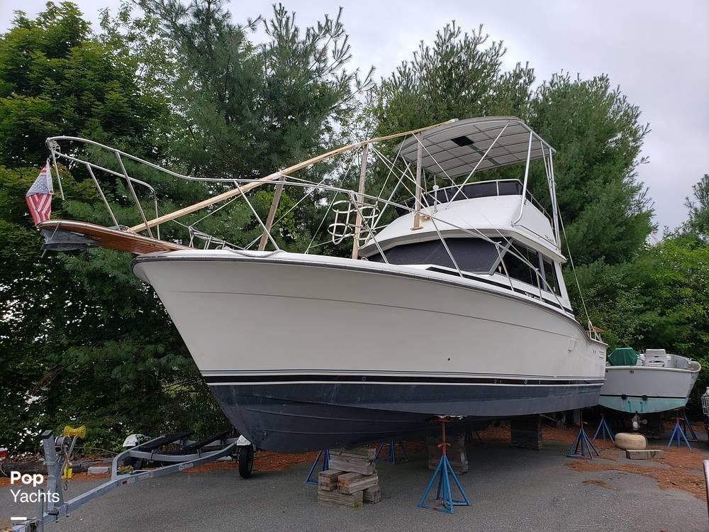 1988 Trojan boat for sale, model of the boat is 32 Sedan Flybridge & Image # 3 of 40