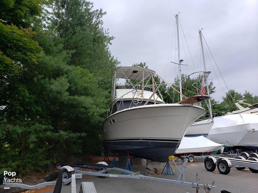 1988 Trojan boat for sale, model of the boat is 32 Sedan Flybridge & Image # 4 of 40